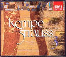 Rudolf KEMPE: STRAUSS Eine Alpensinfone Don Quixote Macbeth PAUL TORTELLIER 3CD