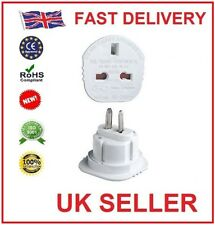 Qty 2 UK TO USA US AMERICA / AUSTRALIA / NEW ZEALAND TRAVEL PLUG POWER ADAPTOR