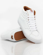 NIB VANS SHOES SK8 HI XTUFF TRUE WHITE SZ SIZE MENS 9 WOMENS 10.5 SKATE SHOES