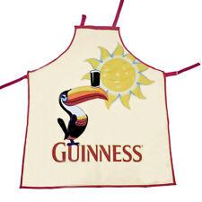 Genuine Licensed Guinness Chef's Apron 100% Cotton - Toucan Design