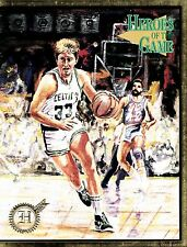 1994 #4A HEROES OF THE GAME 22 MAGAZINE - LARRY BIRD OF BOSTON CELTICS ON COVER