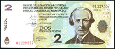 ARGENTINA  - 2  PESOS  2001 (2006)   -   Emergency banknotes LECOP Uncirculated