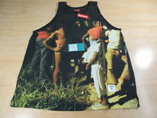 SUPREME KINGSTON TANK TOP SHIRT BLACK XL S/S 2013 BOX LOGO CDG PCL SHIBUYA