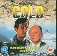 GOLD - Roger Moore, Susannah York, John Gielgud - Thriller  ***DVD***