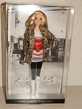2016 ANDY WARHOL Campbell's Soup Barbie Doll NEW! In Stock # DKN04-Silver Label