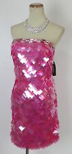 New Jovani Strapless Formal Cruise $300 Dress Size 0 Prom Pink Homecoming Short