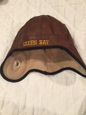 Green Bay Bomber Winter Hat Children's Army Fleece Lined Trapper Hat