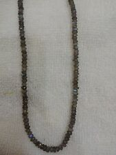 "100% Natural Labradorite  3.5-4MM MICRO Faceted Loose Beads 13"" Inches AAA+"