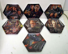 Set of 7 Star Trek First Contact The Collective Plate Collection (M1512)