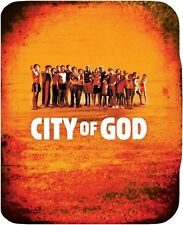 City of God Limited Edition Embossed SteelBook Blu-ray (Region B UK Import); New