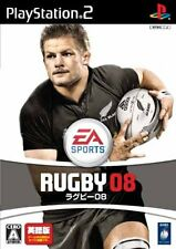 USED EA Sports Rugby 08 Japan Import PS2