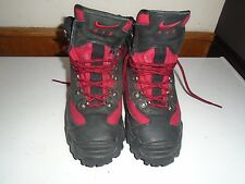 BOYS/MENS Rare VTG NIKE Air ACG Black/Red Boots US 6 648013-061 Hiking Snow Shoe