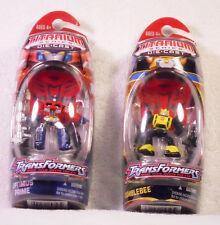 Transformers Titanium Optimus Prime and Bumblebee