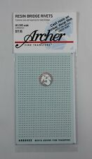 Archer HO-Scale (1/87) Resin Bridge Rivets (common to Steel Bridges) AR88052