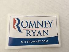 ROMNEY/RYAN BUMPER/ WINDOW STICKER