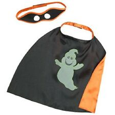 BUILD-A-BEAR HALLOWEEN GLOW IN DARK GHOST CAPE & MASK TEDDY CLOTHES COSTUME