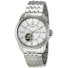 Bulova 96A100 Automatic Self-Winding Exhibition Caseback Men's Watch $425
