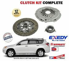 FOR TOYOTA RAV4 2.2DT D4D 2AD-F*V 2005-2013 NEW 3 PIECE CLUTCH KIT COMPLETE