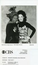 FRAN DRESCHER WHOOPI GOLDBERG SMILING PORTRAIT THE NANNY ORIG 1998 CBS TV PHOTO