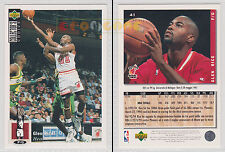 NBA UPPER DECK 1994 COLLECTOR'S CHOICE - Glen Rice # 41 Ita/Eng MINT
