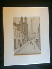 SMALL LS Lowry Prints In Mount Ready To Frame - Just £5!!!