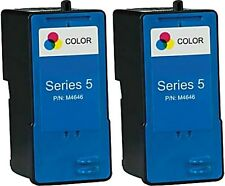 2pk For Dell Series 5 Color Ink Cartridges for 922 924 942 944 946 962 964