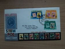 Malaysia Centenary of First Stamps in Malaysia 1967 2 December FDC