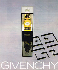 PUBLICITE ADVERTISING 035 1978  GIVENCHY III  parfum femme