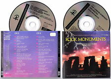 The LONDON SYMPHONY ORCHESTRA - Rock Monuments 1989 BOX 2 CD Very RARE Import