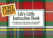 Postcards from Life's Little Instruction Book by H. Jackson, Jr. Brown (1993,...