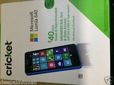 Microsoft Lumia 640 LTE (Cricket Wireless)
