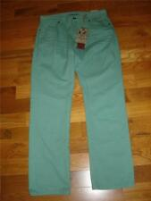 NWT $52 IRON CO. Green Low Rise Slim Leg SLIM FIT Jeans Mens 30 x 32