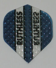3 Sets (9 Flights) Ruthless Blue Embossed (Dimplex) Standard - Free Ship 4303