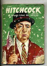 Alfred Hitchcock#LE GRANDI FIRME DEL BRIVIDO#Hitchcock's Mistery Magazine1960