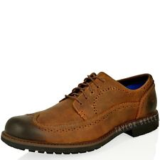 TIMBERLAND MENS EARTHKEEPERS BROGUE LONG WING OXFORD DARK BROWN OFFICE SHOES