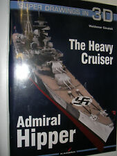Kagero Publishing 16032 - Super Drawings In 3D  The Heavy Cruiser Admiral Hipper