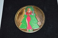 Disney Shopping.com JESSSICA RABBIT Gold Holiday Coin Pin LE 250