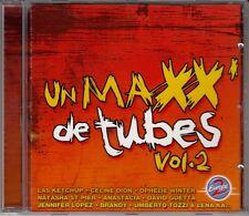 CD ALBUM *UN MAXX DE TUBES* CELINE DION JENNIFER LOPEZ DAVID GUETTA ANASTASIA ..