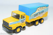 LION CAR LION TOYS DAF N2800 TORPEDO TRUCK DEALER TEAM PARIS DAKAR NEAR MINT.
