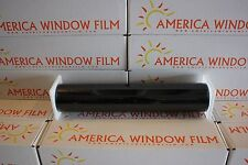 "WINDOW FILM TINT HIGH PERFORMANCE METALIZED 2 PLY BLACK 5% LIMO 30"" X 10 FT"