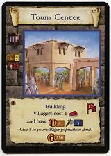 Town Center (5) - Age Of Empires ECG CCG Card (C96)