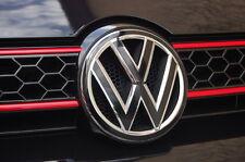 Golf 6 VW Emblem Folie Schwarz Glanz-Matt für Front oder Heck GTI,GTD,R,Tuning