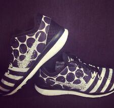 SWAROVSKI Elements On Nike Women's Free 5.0 TR Fit 5 Shoes-Black/White-Size 9