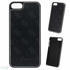 "GUESS iPhone 5, 5s,SE 4"" Hard Case Back Cover Aluminium Schutzhülle Handytasche"