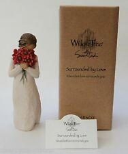 SURROUNDED BY LOVE Willow Tree 26233 bouquet flowers figurine Valentine's Day