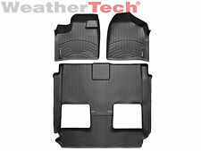 WeatherTech® FloorLiner - Dodge Grand Caravan stow & go seats - 2011-2015 -Black