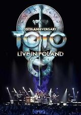 Toto: 35th Anniversary Tour - Live in Poland (Blu-ray/DVD, 2014, 4-Disc Set,...