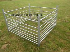 SHEEP HURDLES 5ft x20 new galvanised steel