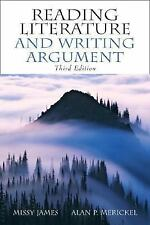 Reading Literature and Writing Argument-ExLibrary