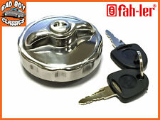 Locking Stainless Steel Fuel Petrol Cap For Classic MG, MINI, FORD + Others